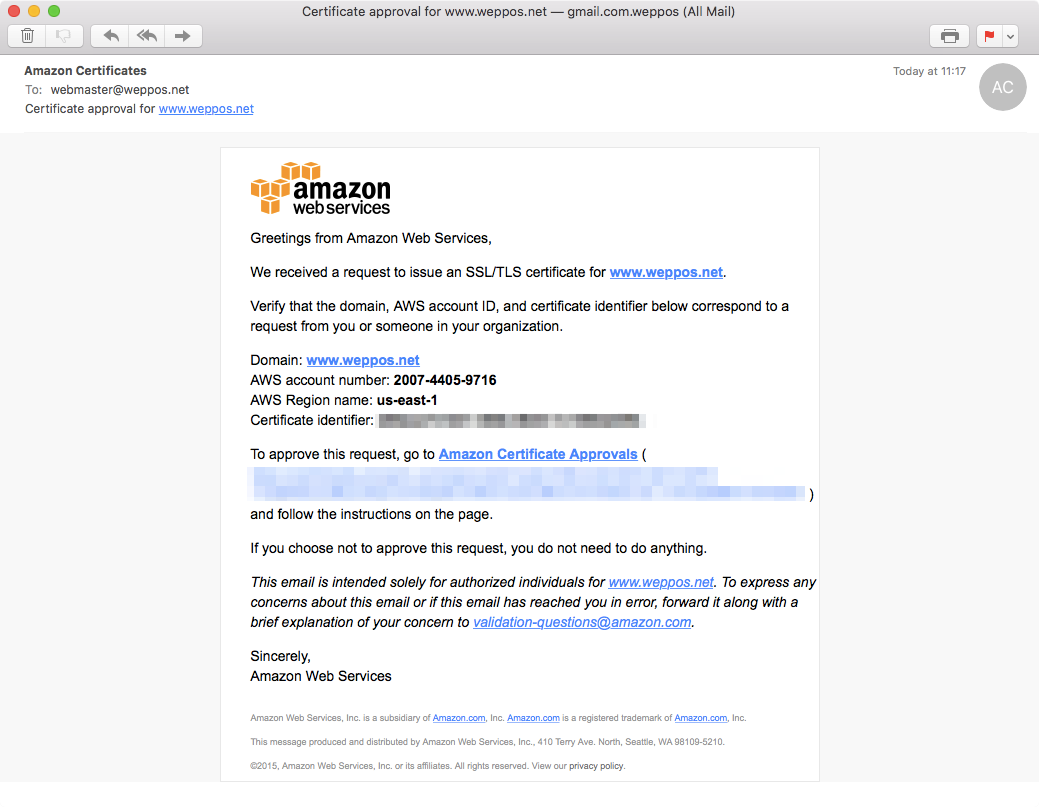 Redirecting a domain with HTTPS using Amazon S3 and