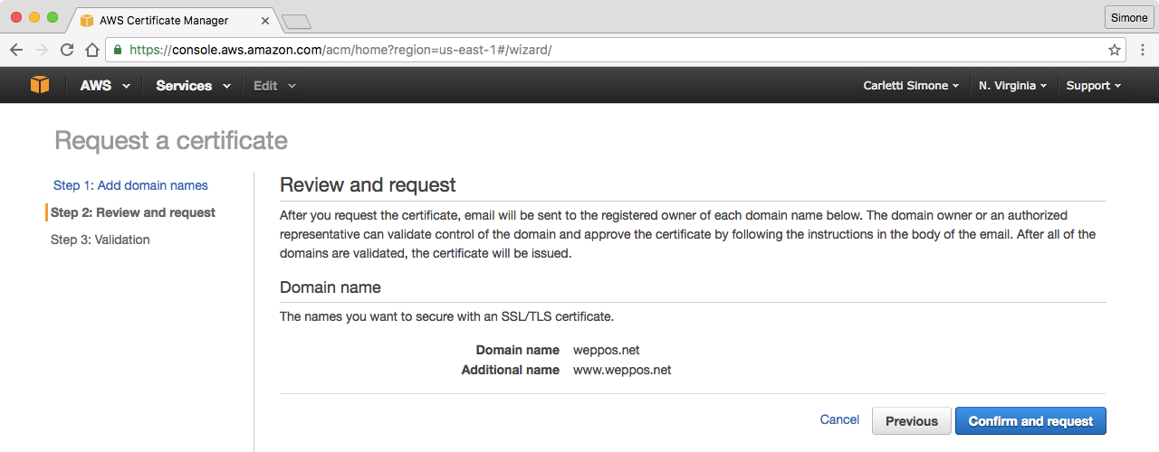 Redirecting A Domain With Https Using Amazon S3 And Cloudfront